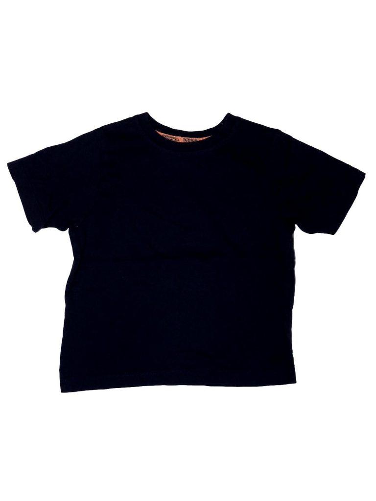 Hibátlan Marks & Spencer Sötétkék pamut póló (98-104)