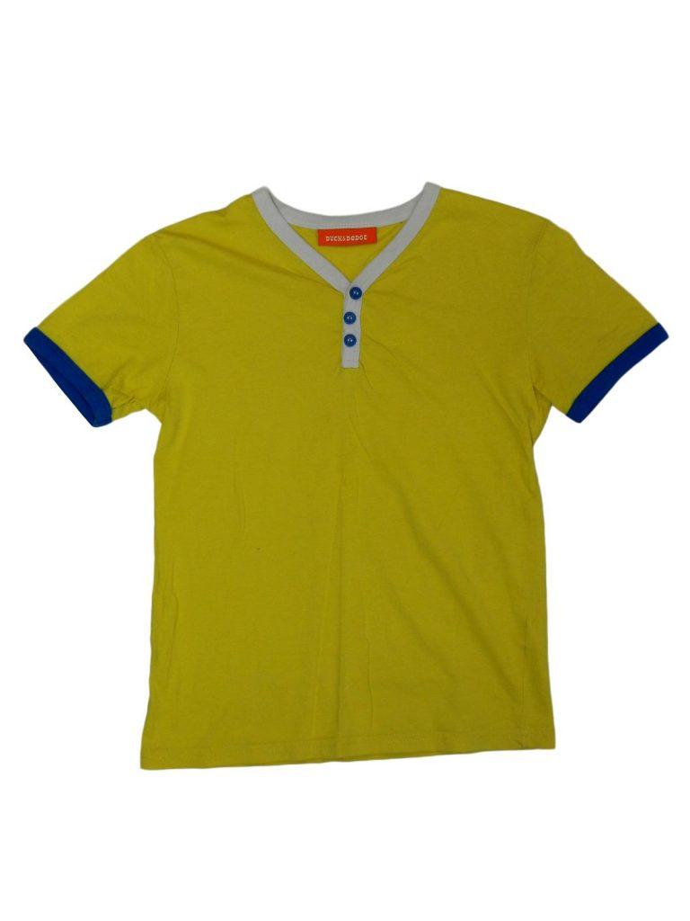 Hibátlan Egyéb márka Sárga, gombos póló (122)