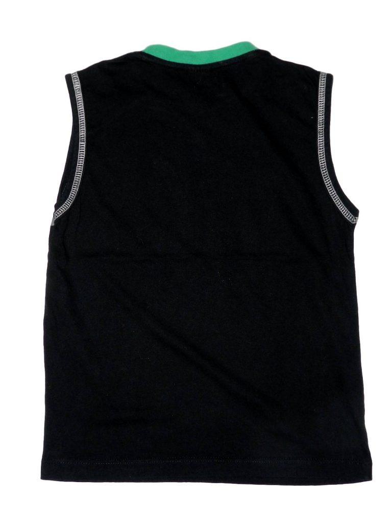 Jó állapotú Egyéb márka Fekete, mintás ujjatlan felső (110)