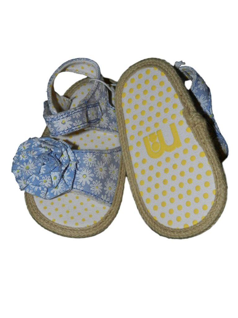 Új / Outlet Mothercare Virágmintás babaszandál (16)