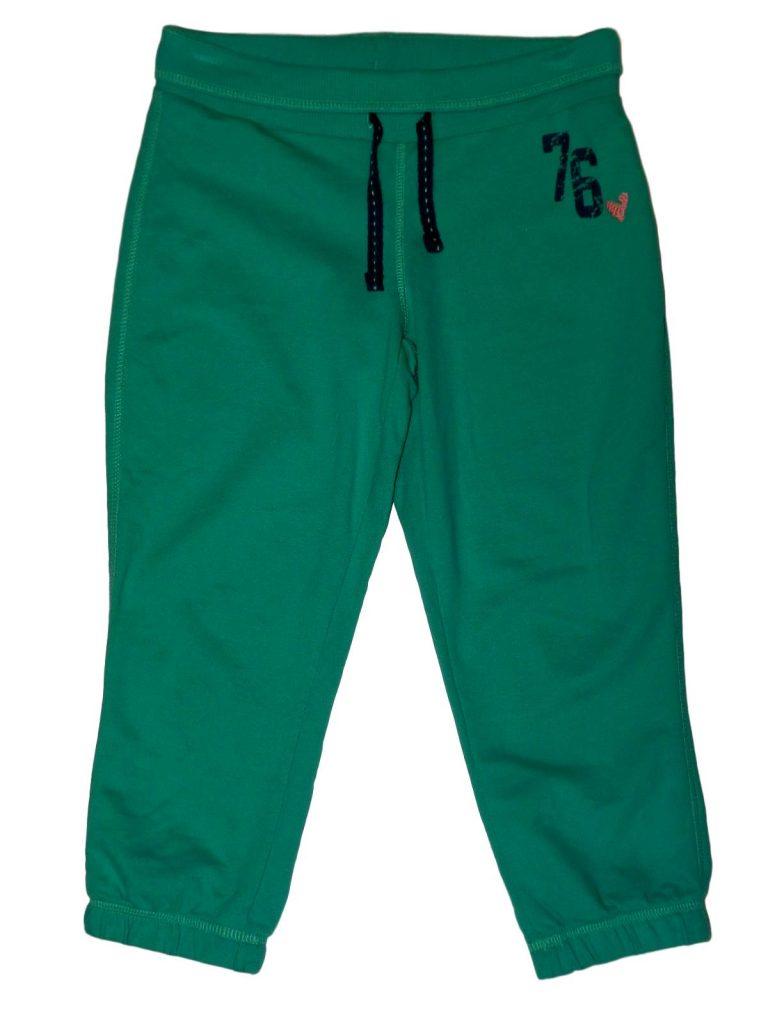 Hibátlan Marks & Spencer Zöld pamutnadrág (134-140)