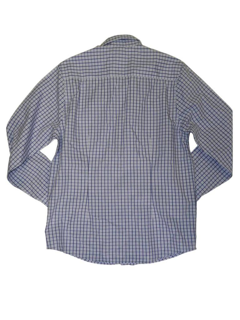 Újszerű Flip-Back Kék kockás hosszú ujjú ing (146-152)