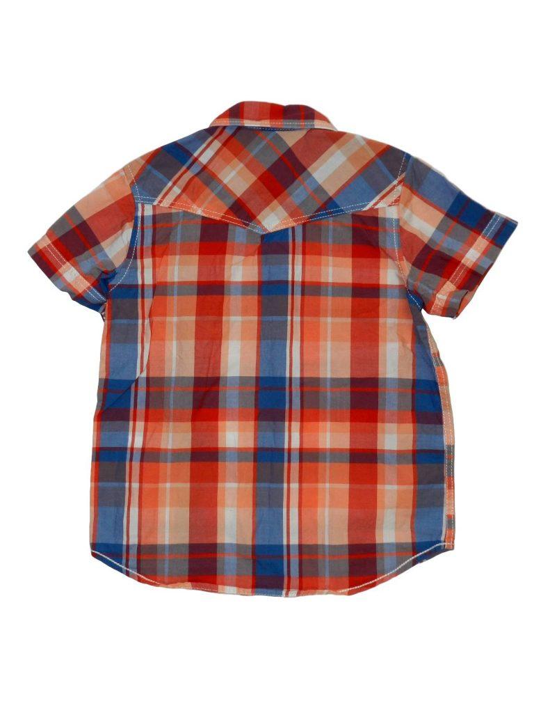 Újszerű H&M Színes rövid ujjú ing (104)