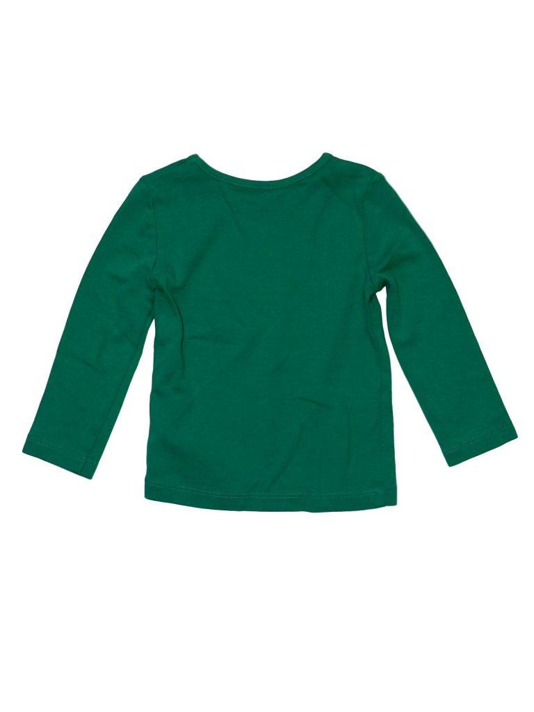 Újszerű Next Zöld, hosszú ujjú felső (80)
