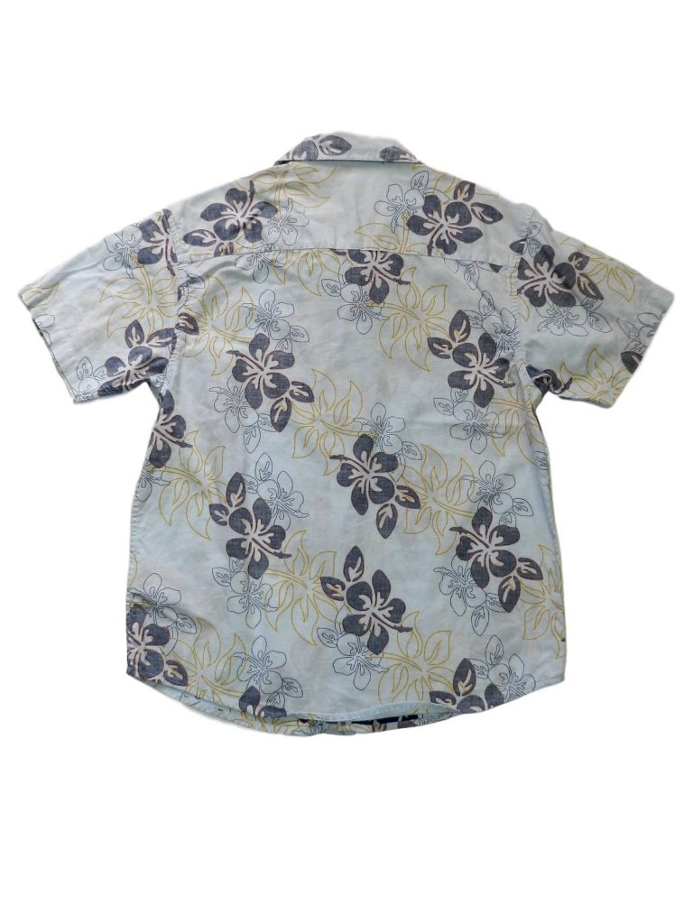 Újszerű Egyéb márka Kék, mintás rövid ujjú ing (146-152)