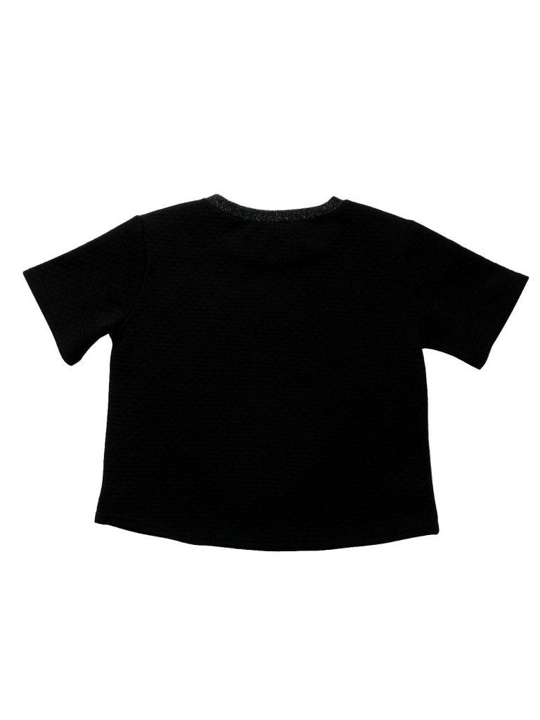 Újszerű New Look Fekete, anyagában mintás felső (152-158)