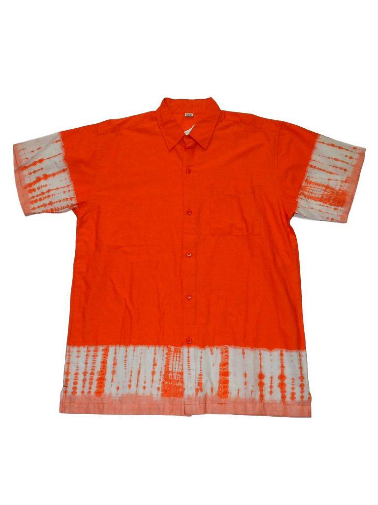 Új / Outlet Egyéb márka Narancssárga rövid ujjú ing (158-164)