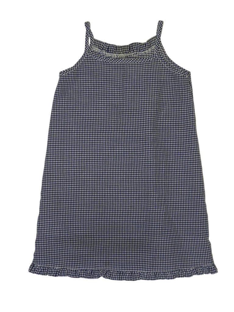 Hibátlan George Kék-fehér kockás ruha (80-86)
