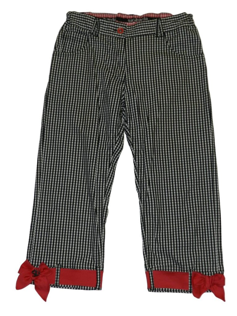 Újszerű Egyéb márka Fekete-fehér kockás halásznadrág (164)