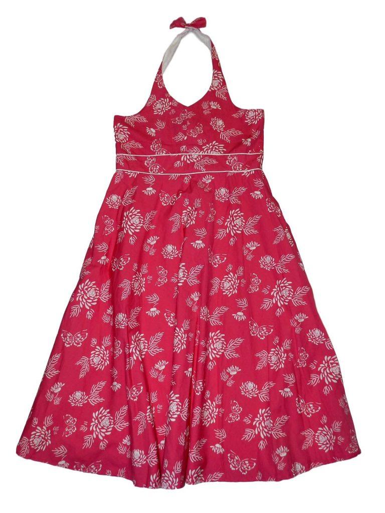 Újszerű CQ Pink, virágmintás ruha (152-158)