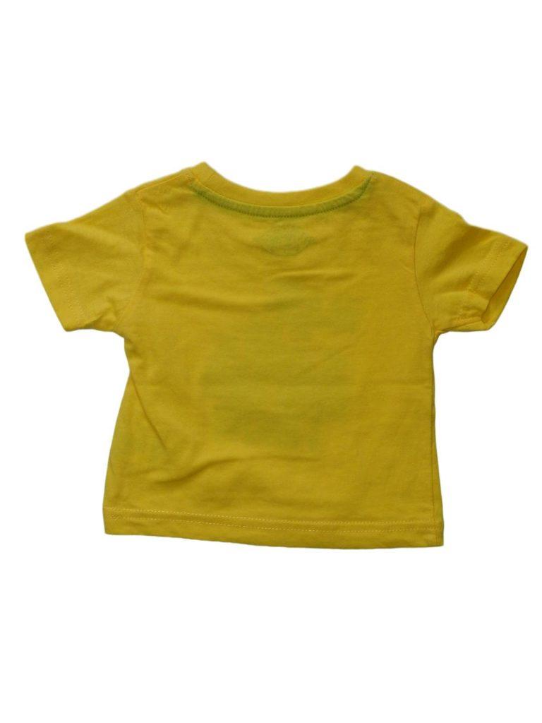 Hibátlan Early Days Sárga, feliratos póló (74-80)