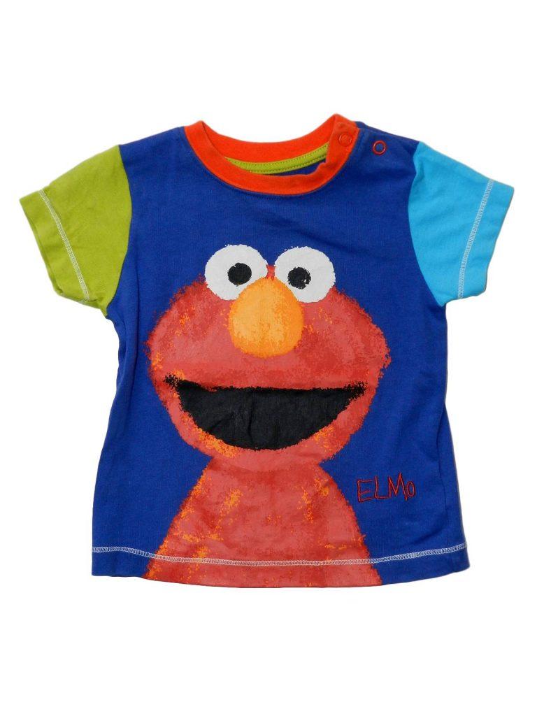 Újszerű Nutmeg Elmo póló (68-74)