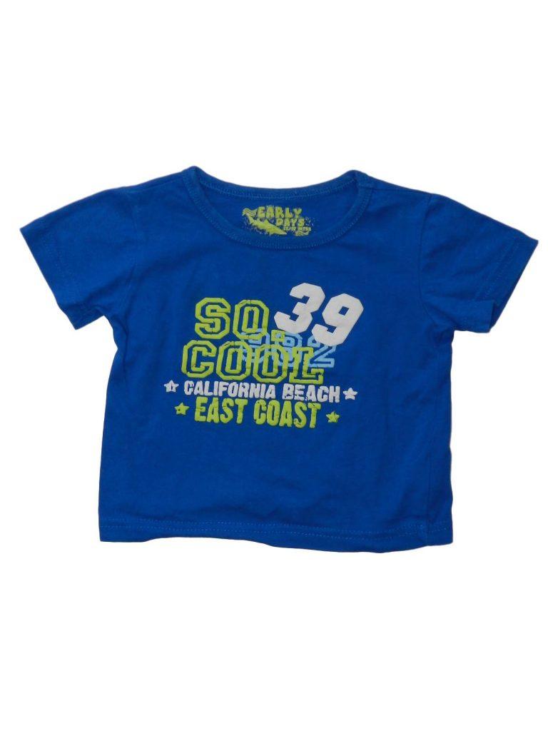 Hibátlan Early Days Kék, feliratos póló (80)