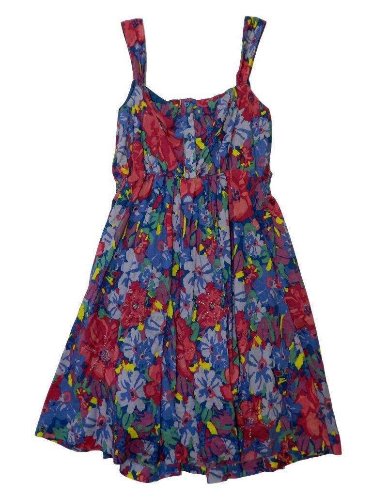 Hibátlan Egyéb márka Virágos pamut ruha (158)