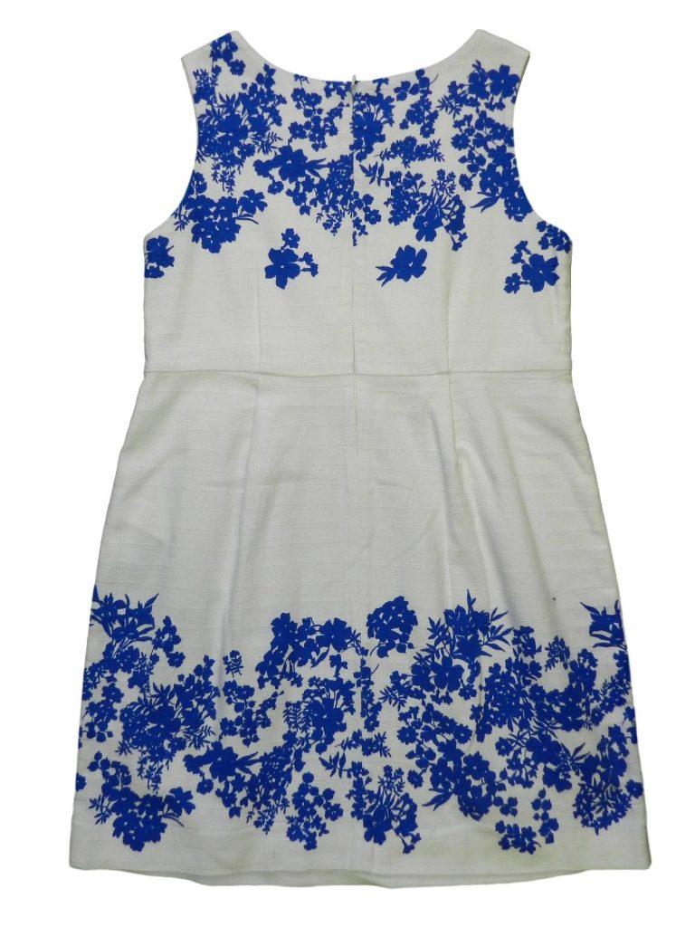 Újszerű Zara Kék virágos ruha (164)