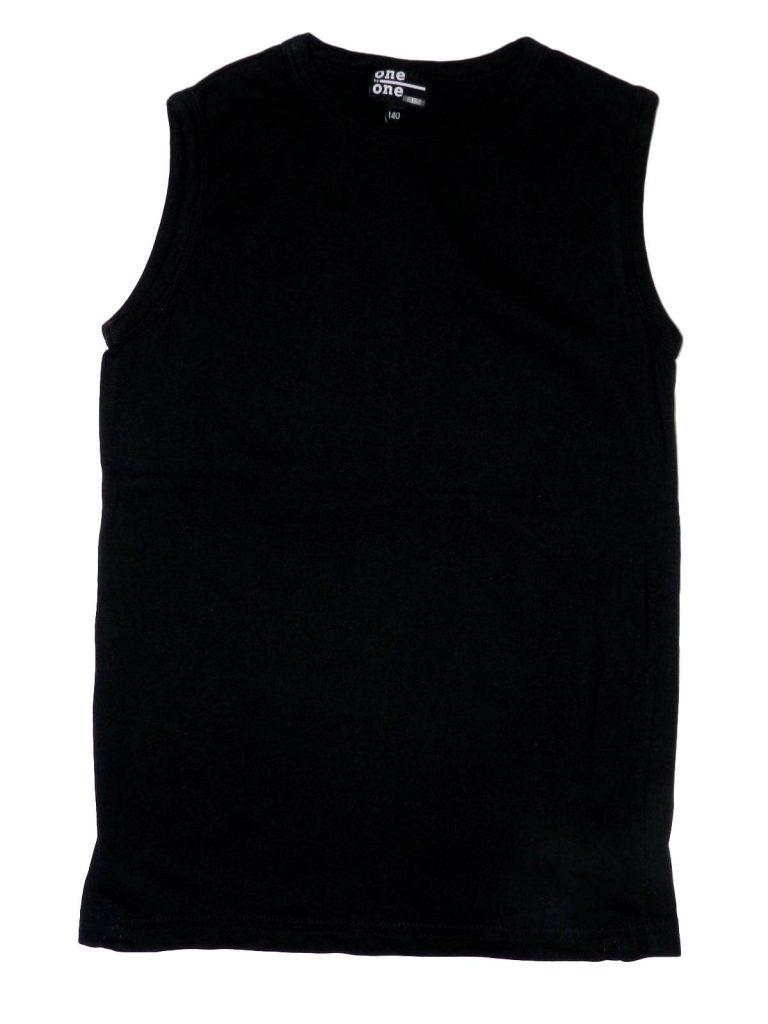 Újszerű Egyéb márka Fekete ujjatlan felső (140)