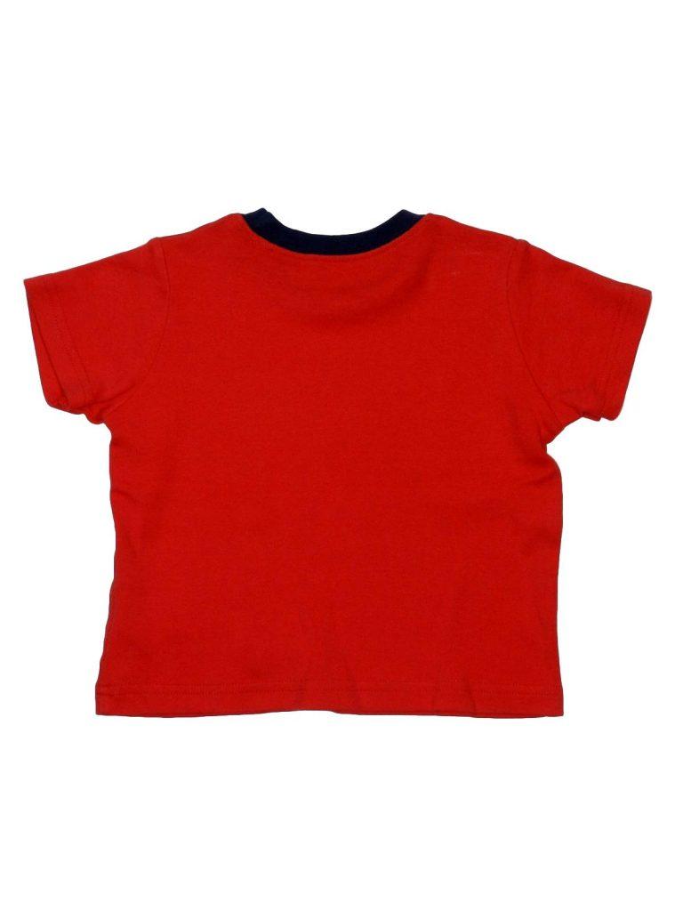 Hibátlan George Piros feliratos póló (80-86)