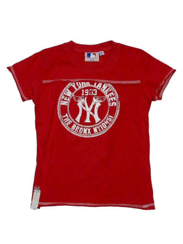 Hibátlan Egyéb márka Yankees piros póló (146-152)