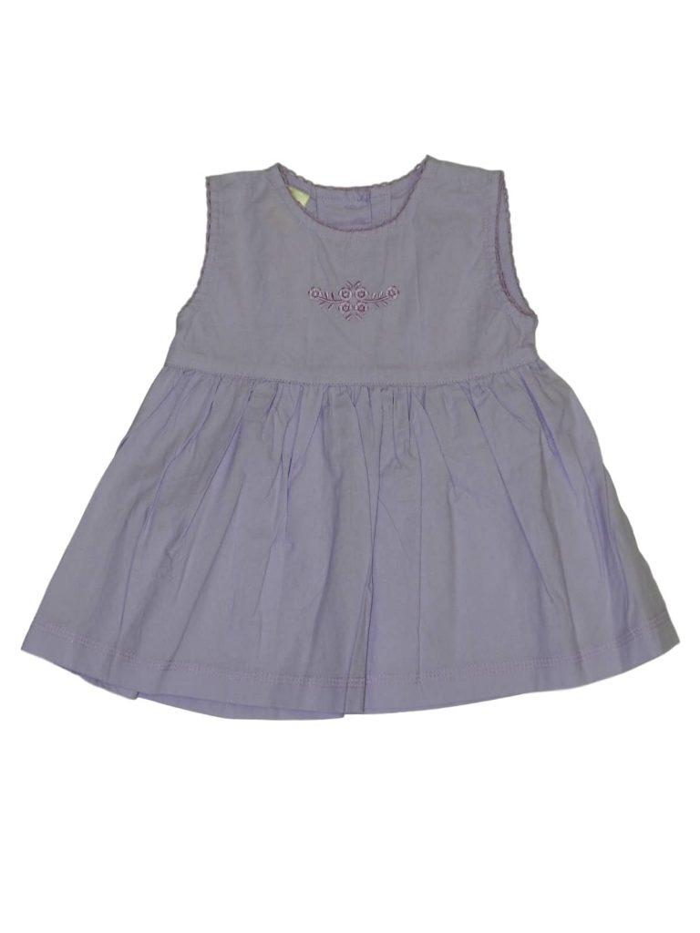 Hibátlan Tiny Ted Lila ruha (56-62)