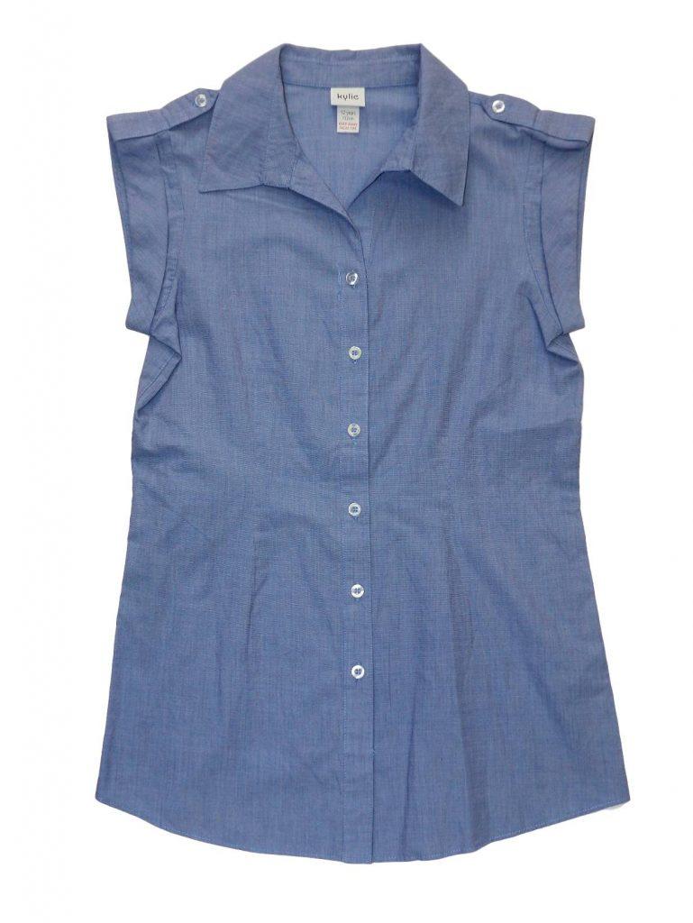 Újszerű M&Co Kék blúz (152)