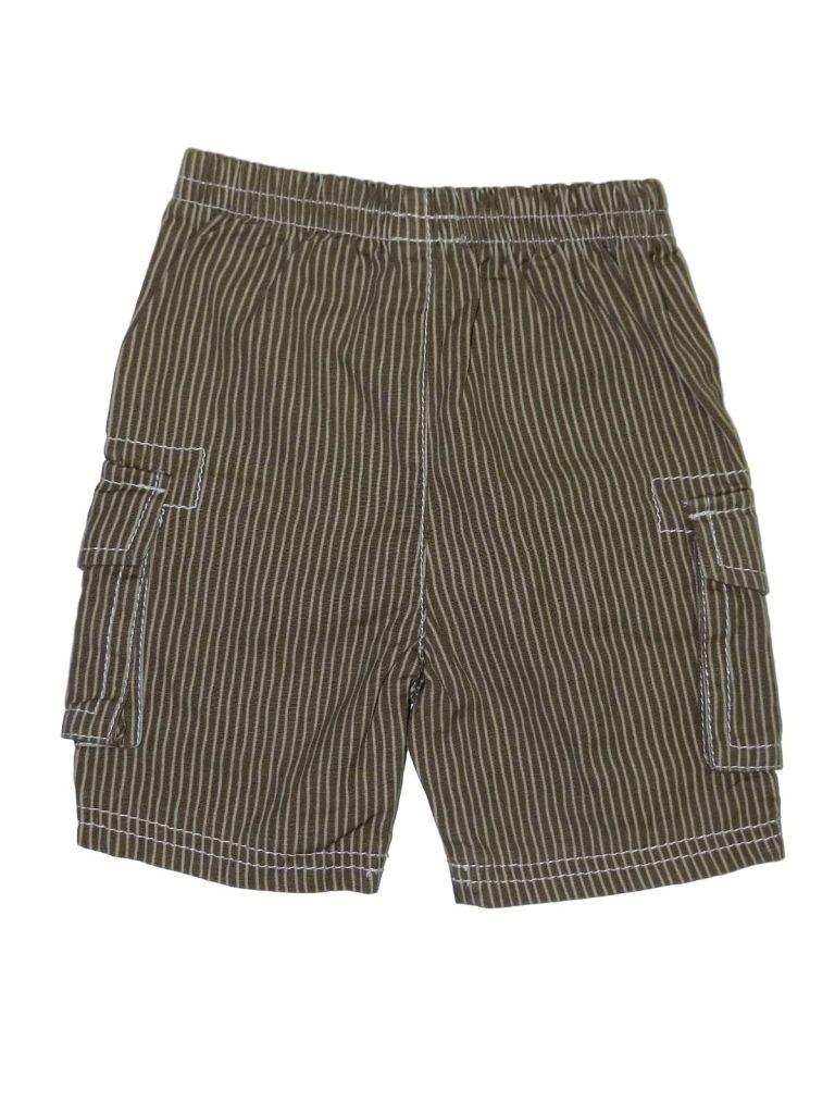 Újszerű Egyéb márka Barna, csíkos nadrág (62)