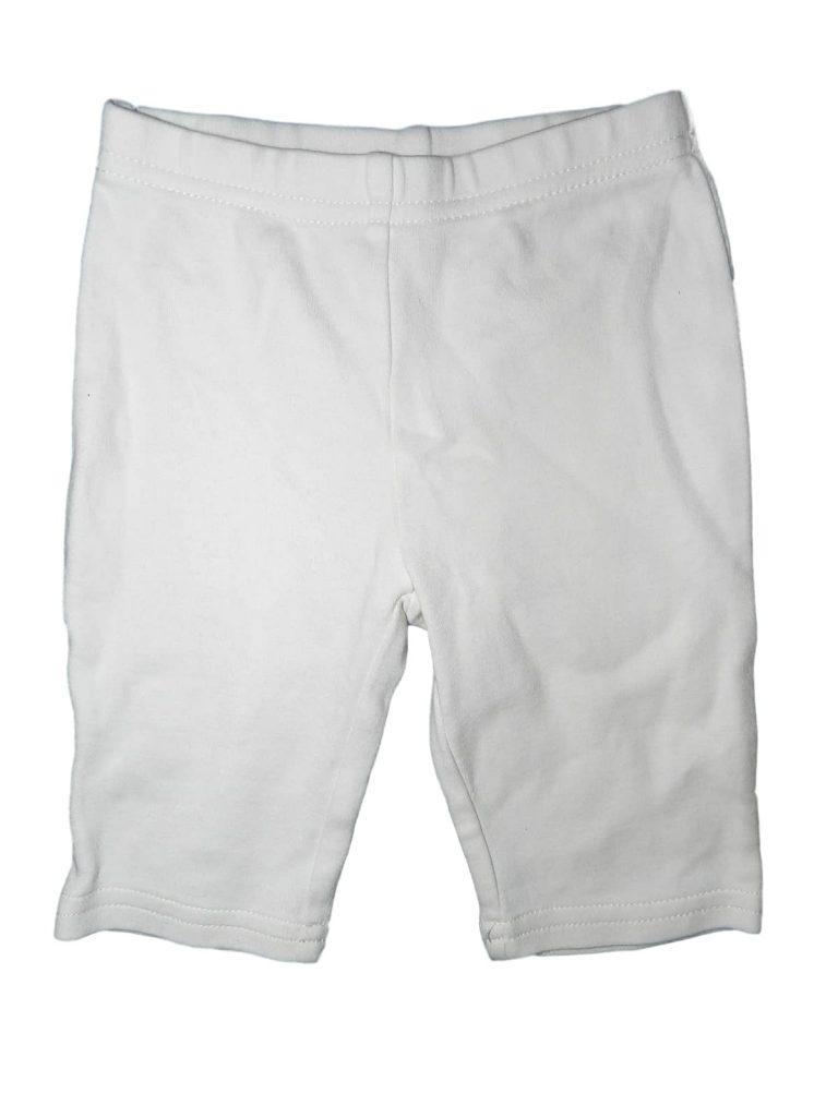 Újszerű Next Fehér leggings (56-62)