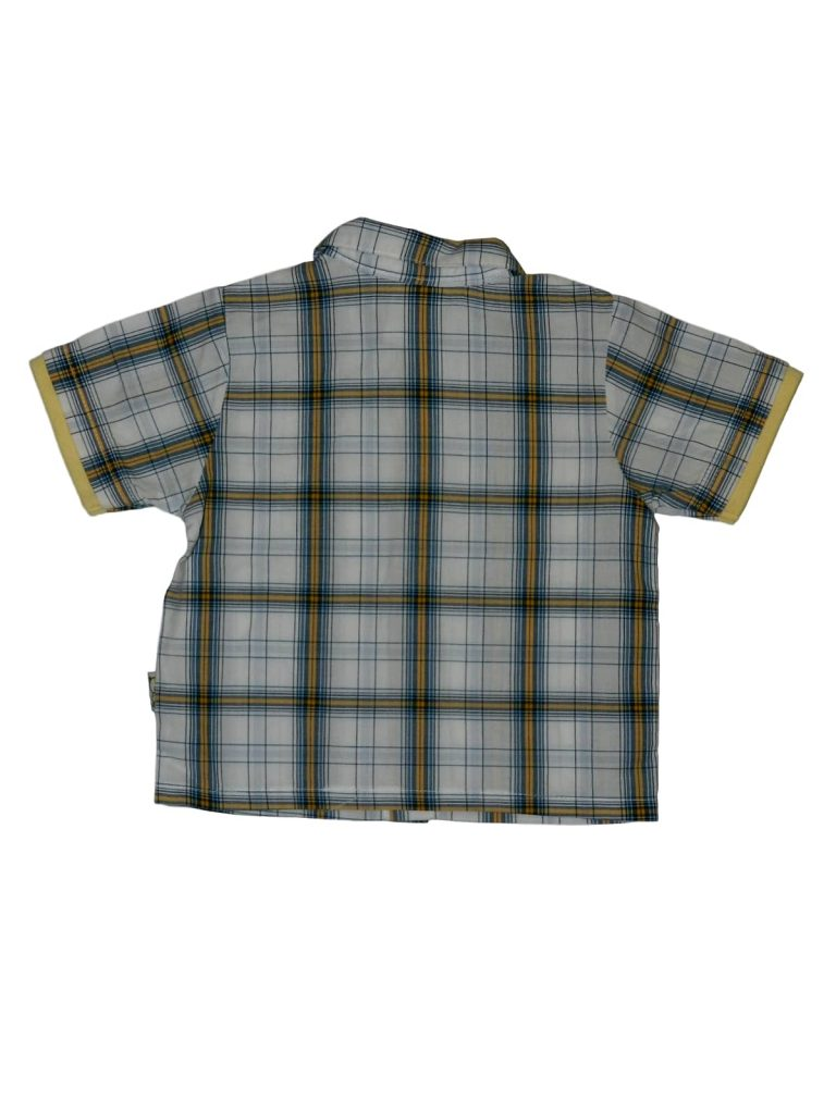 Hibátlan Egyéb márka Kockás rövid ujjú ing (74)