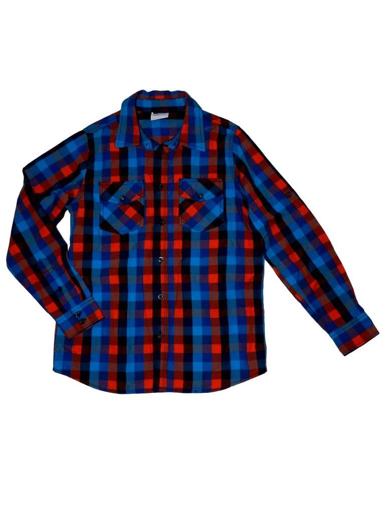 Újszerű Egyéb márka Kockás hosszú ujjú ing (146-152)