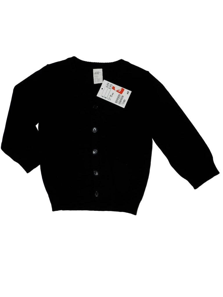 Új / Outlet H&M Fekete kardigán (86)