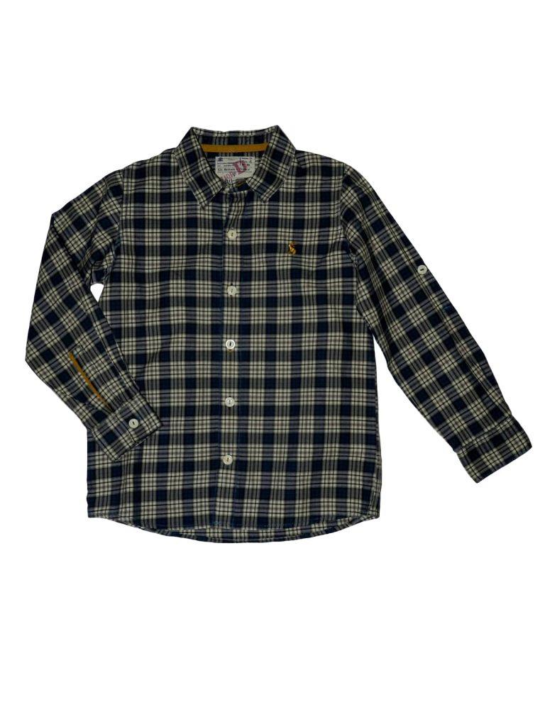 Hibátlan Egyéb márka Kék, kockás ing (128)