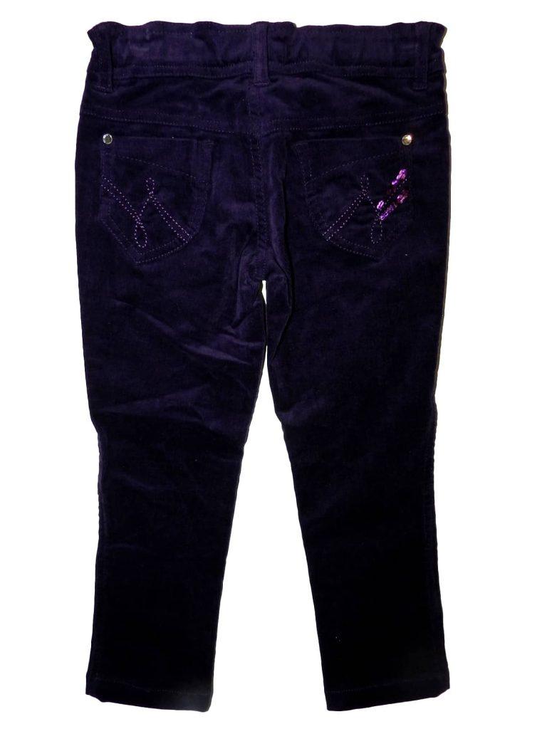 Új / Outlet Egyéb márka Lila, kord nadrág (104)