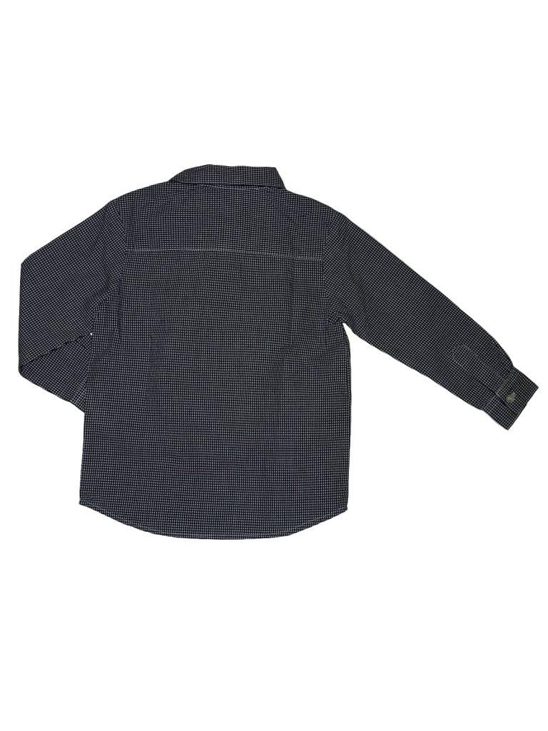 Újszerű Egyéb márka Kék-fehér apró kockás ing (92-98)