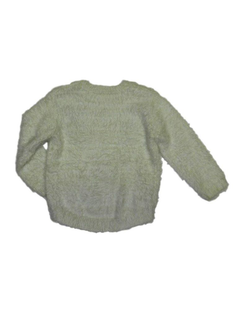 Újszerű Matalan Rénszarvasos, szőrmés pulóver (86)
