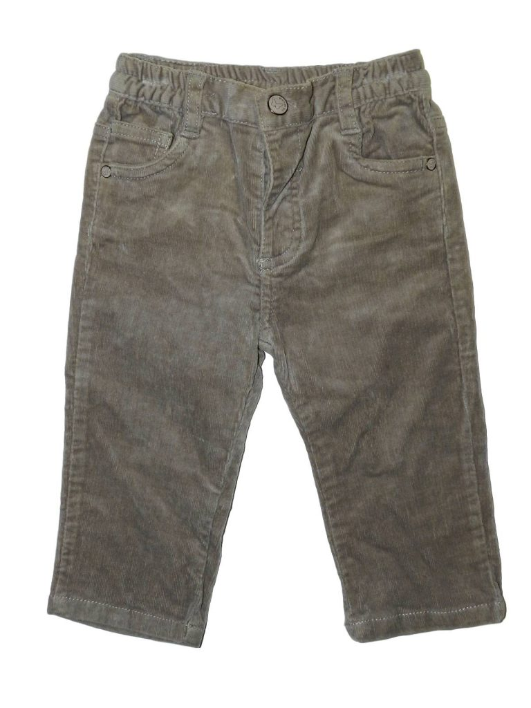 Újszerű Egyéb márka Barna kord nadrág (74-80)