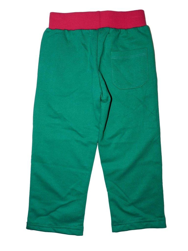 Újszerű Egyéb márka Zöld, strasszos melegítőnadrág (104)