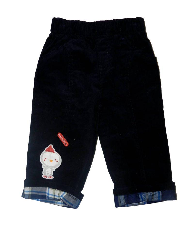 Új / Outlet Egyéb márka Sötétkék, pingvines kord nadrág (74)