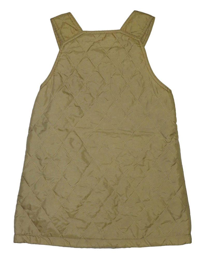 Jó állapotú Egyéb márka Világos barna, steppelt ruha (116)