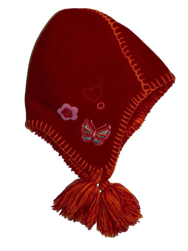 Hibátlan Egyéb márka Bordó, pillangós sapka (104-116)