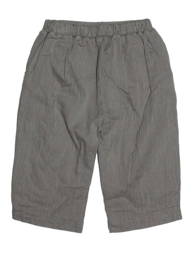 Újszerű Egyéb márka Barna, csíkos, bélelt nadrág (68-74)