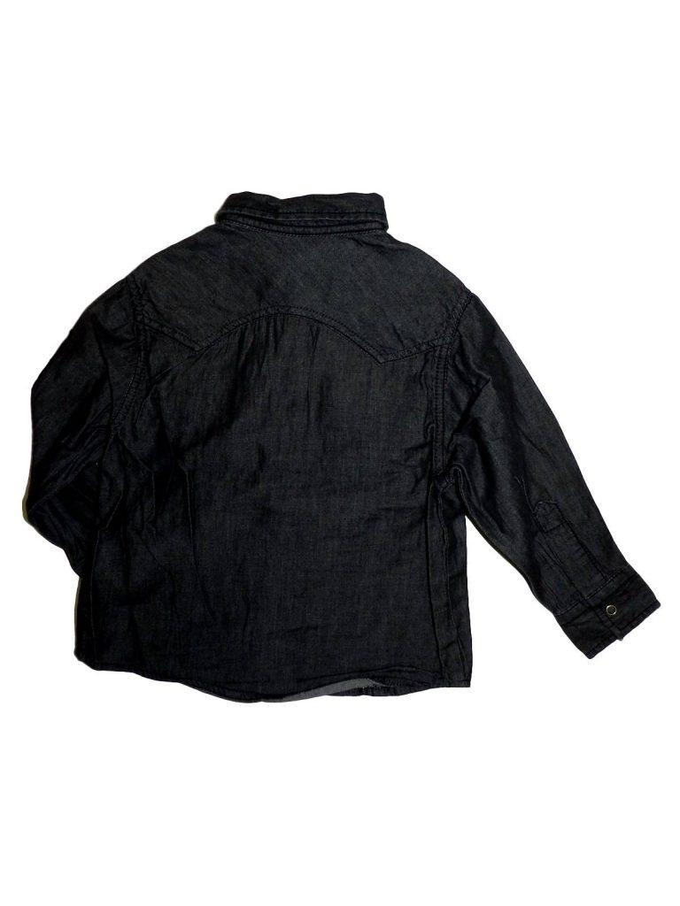 Újszerű Matalan Sötétszürke, farmer jellegű ing (98)
