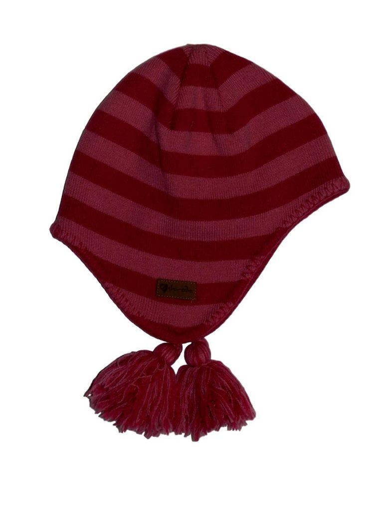 Újszerű Egyéb márka Rózsaszín-pink csíkos sapka (92-104)