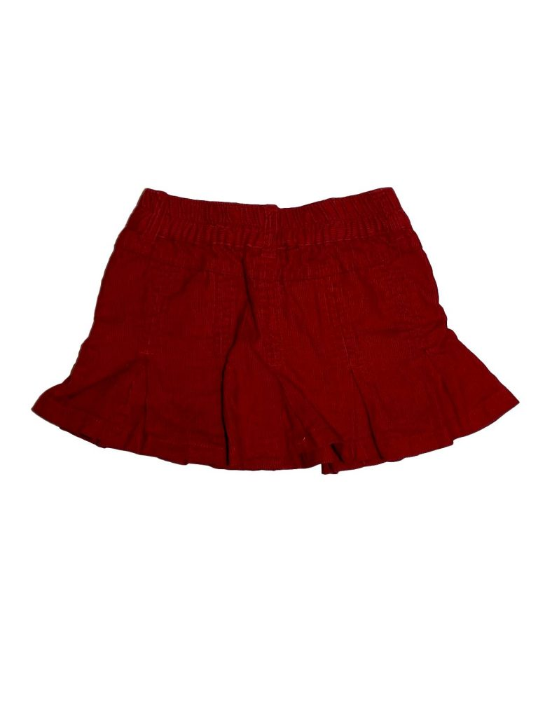 Újszerű Egyéb márka Piros, kord szoknya (98-104)