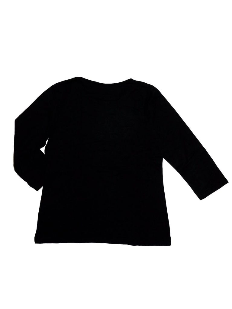 Hibátlan Egyéb márka Fekete, feliratos lány felső (146-152)