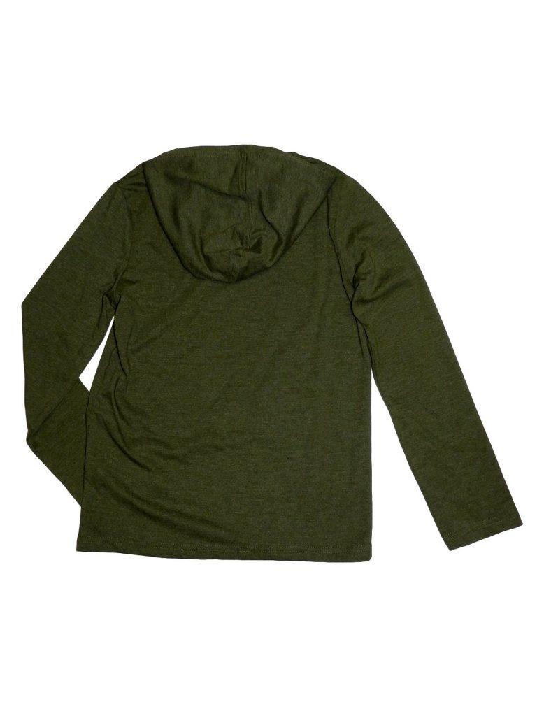 Újszerű Egyéb márka Zöld, kapucnis felső (134-140)