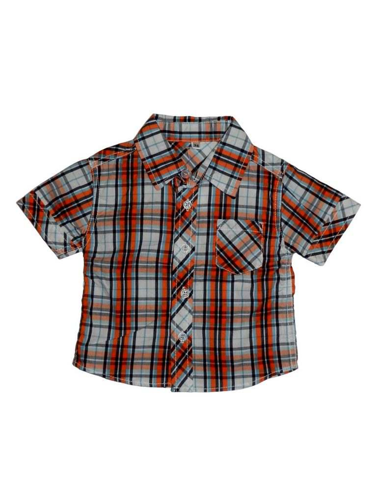 Új / Outlet Egyéb márka Kockás, rövid ujjú ing (74)