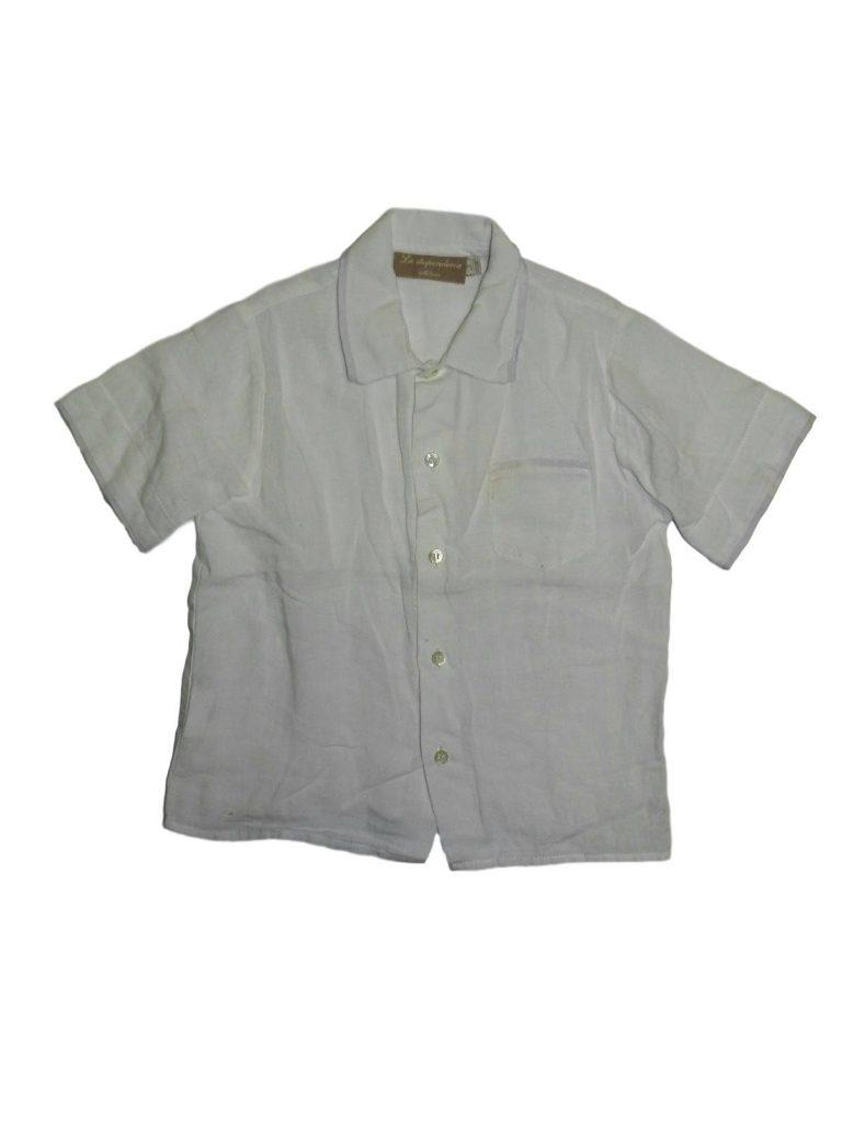 Jó állapotú Egyéb márka Fehér, lenvászon ing (98)