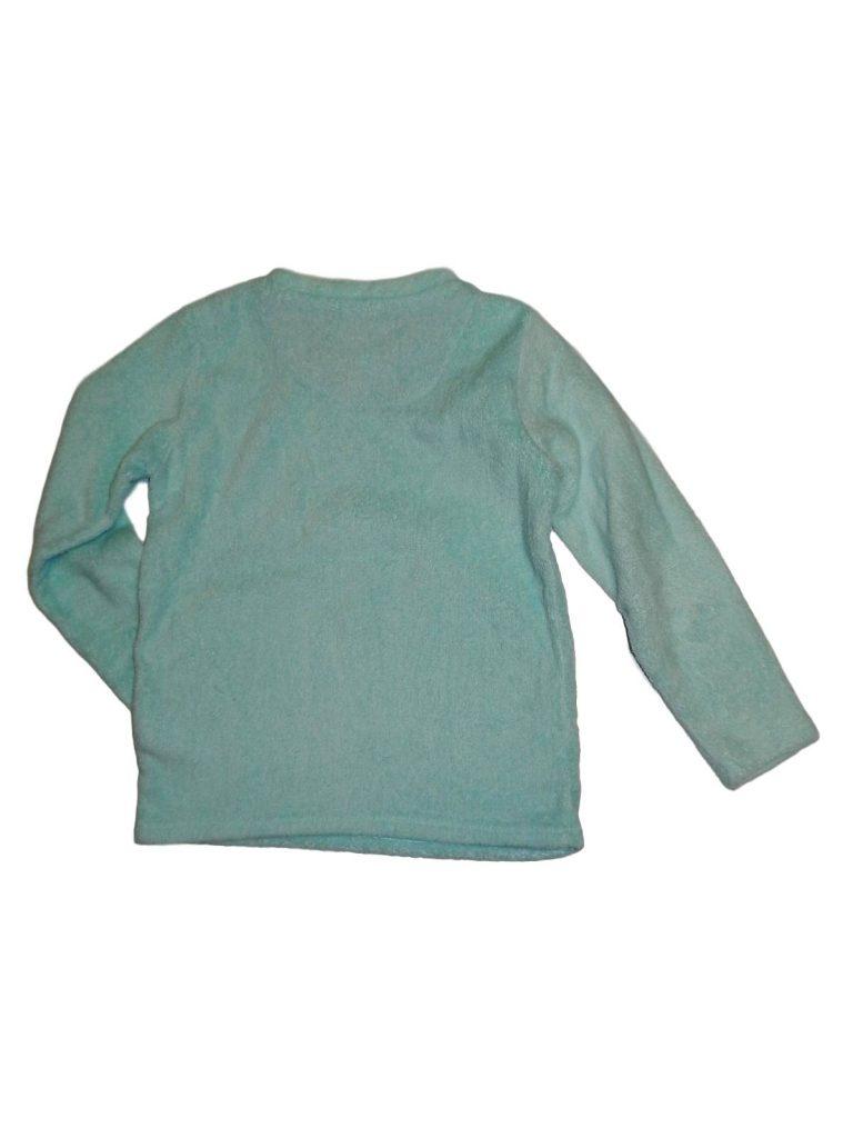 Jó állapotú Egyéb márka Kék, plüss pizsama felső (146-152)