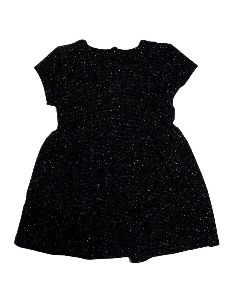 Újszerű F&F Sötétkék ruha, arany szálakkal (86)