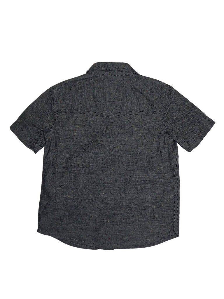 Hibátlan Bhs Kék, rövid ujjú ing (86)