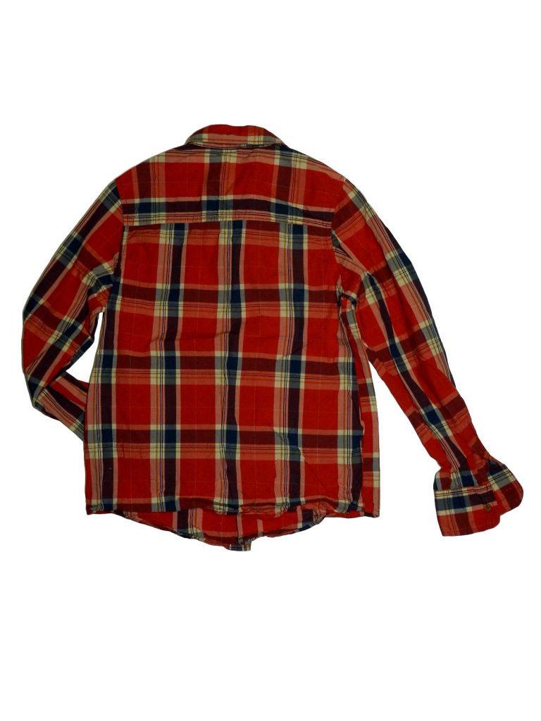 Újszerű Rebel Piros kockás, hosszú ujjú ing (158)